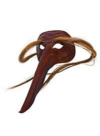 Naso Criniere Venetian Leather Mask