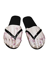 Nasty Bare Feet man