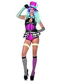 Neon Hutmacherin Kostüm