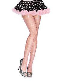 Net stockings pink
