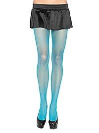 Netzstrumpfhose neonblau