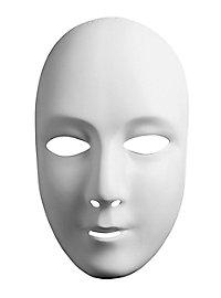 Neutral mask head woman