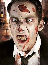 Nez de zombie Application en latex