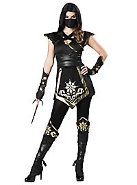 Ninja fighter costume, female