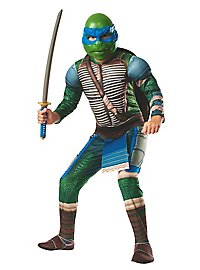 Ninja Turtles Leonardo Deluxe Costume for Children with Upholstery