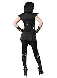Ninjakämpferin Kostüm