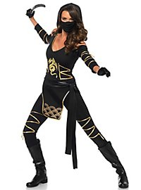 Ninjakriegerin Kostüm