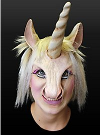 Noble Unicorn Latex Half Mask