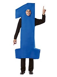 Nummer 1 Karnevalskostüm