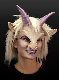Nymphe de Pan Demi-masque en latex
