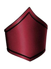 Oberarmreif aus Leder rot