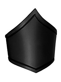 Oberarmreif aus Leder schwarz
