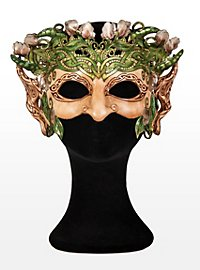 Oberon Leather Half Mask
