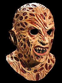 Official Freddy Krueger Deluxe Latex Full Mask