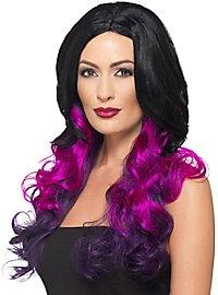 Ombré Hair Kunsthaar Perücke violett