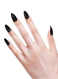 Ongles pointus noirs