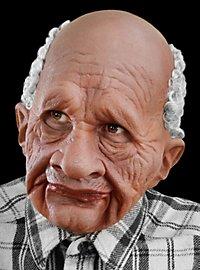 Opa Deluxe Maske aus Latex