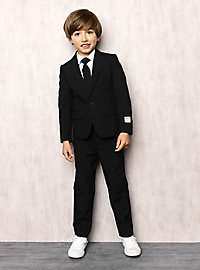 OppoSuits Boys Black Knight Suit For Children