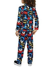 OppoSuits Boys Dark Knight Suit for Children