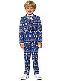 OppoSuits Boys Merry Mario Anzug für Kinder