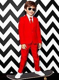 OppoSuits Boys Red Devil suit for kids