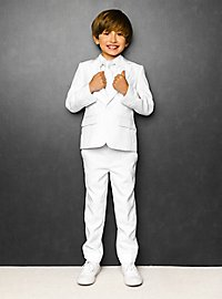 OppoSuits Boys White Knight Suit For Children