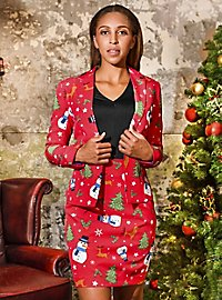 OppoSuits Christmiss Damen Anzug