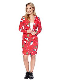 OppoSuits Christmiss Ladies Suit