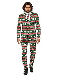 OppoSuits Festive Green Anzug