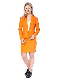 OppoSuits Foxy Orange Damen Anzug
