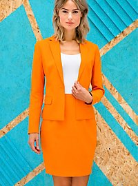 OppoSuits Foxy Orange ladies suit
