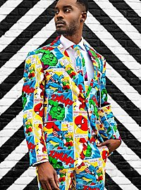 OppoSuits Marvel Comic Book Anzug