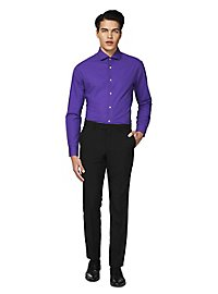 OppoSuits Purple Prince Hemd
