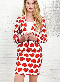 OppoSuits Queen of Hearts Damen Anzug