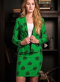 OppoSuits St. Patrick's Girl Damen Anzug