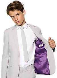OppoSuits Teen Groovy Grey Anzug für Jugendliche