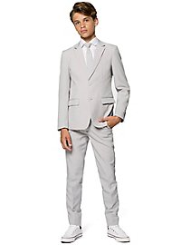 OppoSuits Teen Groovy Grey Suit for Teenagers