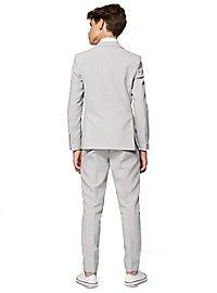 OppoSuits Teen Groovy Grey Suit for Teenagers