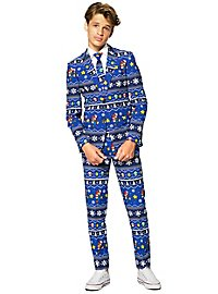 OppoSuits Teen Merry Mario Suit for Teenagers