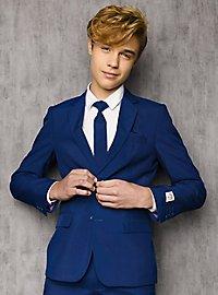 OppoSuits Teen Navy Royale Anzug für Jugendliche