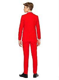 OppoSuits Teen Red Devil Anzug für Jugendliche