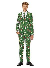 OppoSuits Teen Santaboss Anzug für Jugendliche