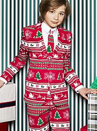 OppoSuits Teen Winter Wonderland Suit for Teenagers