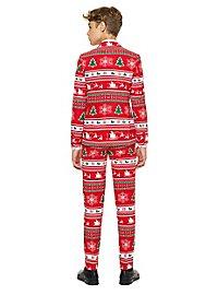OppoSuits Teen Winter Wonderland Suit for Teenagers