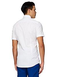 OppoSuits White Knight Kurzarmhemd