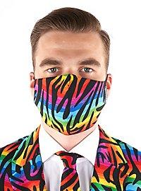 OppoSuits Wild Rainbow Mundschutz Maske