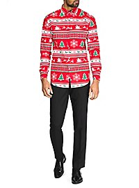 OppoSuits Winter Wonderland Hemd