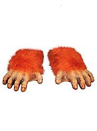 Orangutan Feet