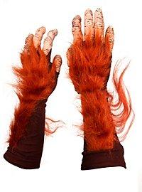 Orangutan Hands