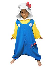 Original Hello Kitty Kigurumi kid's costume